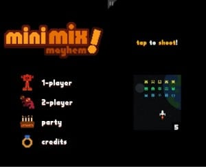 Mini Mix Mayhem: play four games simultaneously