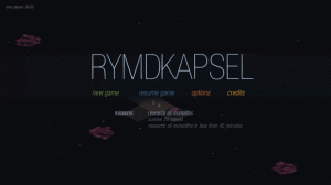 Rymdkapsel: a new strategy by the minimal graphics and unpronounceable name comes on the Play Store
